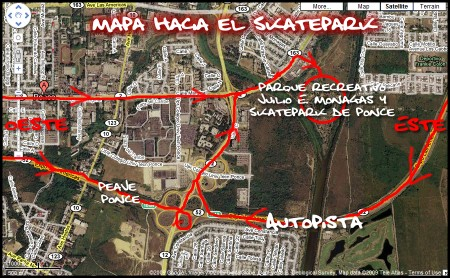 MapaSkateparkPonce