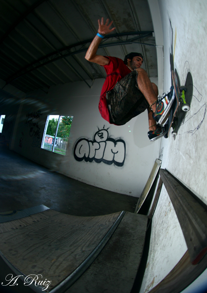 Alexis Rivera - Frontside Wall Jam