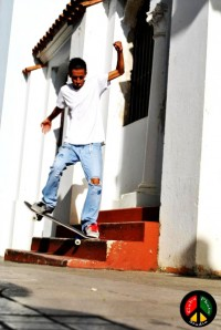 Carlos Maldonado - backside Crooked