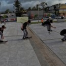 Nathan Rodriguez -360flip at Plaza de Luquillo