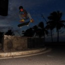 Rio Batan - Kickflip at Monumento La Pared Luquillo